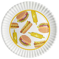 personalized barbecue platter bbq picnic 16 inch large melamine serving platter