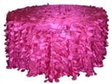 fuschia pink table cloth table cloths tamara hundley events