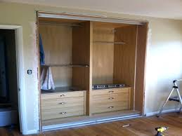 Home Depot Bedroom Furniture by Wardrobes How To Build A Closet To Give You More Storage Wood