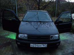 volkswagen vento 1994 фольксваген венто 1992 1 8 литра азов черный мкпп abs 90л с