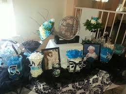 Black And White Candy Buffet Ideas by Mari U0027s Turquoise And Black Music Candy Table Candy Buffets