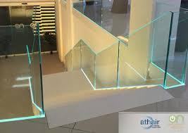 barandilla de cristal barandillas de cristal para viviendas particulares y negocios