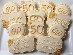 50th anniversary ideas bolinhos festas e prendas anniversaries 50
