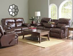 laramie power reclining sofa with table and power reclining loveseat