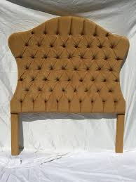 Velvet Tufted Headboard Queen by Gold Upholstered Tufted Headboard Queen Size Hollywood Regency