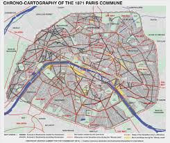 Upenn Map History Chrono Cartography Of The 1871 Paris Commune The