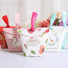 personalized wedding gift bags 20pcs lot creative print personalized wedding candy box gift bag