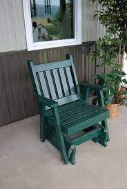 Outdoor Glider Chair 45 Best Painted U0026 Stained Outdoor Solid Wood Furniture Images On