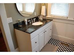 bathroom ideas dark countertop white bathroom cabinets above