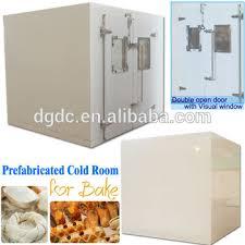 chambre froide boulangerie préfabriquée chambre froide et étalon stockage de froid pour la