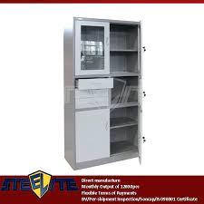 Kitchen Storage Cabinets With Glass Doors Entrance Table With Storage Kitchen Cabinet Glass Doors Medium