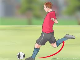 how to kick a soccer ball hard 13 steps with pictures wikihow
