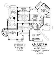 lighthouse floor plans beacon bluff lighthouse plan house plans by garrell associates inc