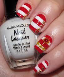 red nautical nail art manicure u2013 style fashion world
