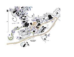 App State Campus Map by Western Carolina University Special Events