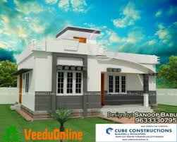 Kerala Model Low cost Home Design 800 sq ft