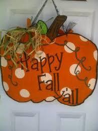 pumpkin burlap door hanger cup express smowmen