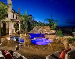 luxury backyard ideas with amazing swimming pool and comfortable
