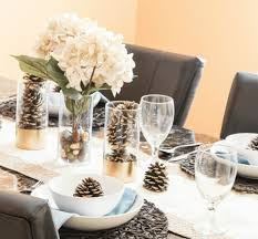 Dining Room Table Setting Dishes Furniture Fall Table Setting How I Created It Frugally At
