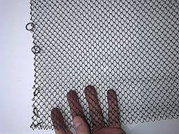 Mesh Curtain Fireplace Screen Fireplace Screen Provincial Triple Panel Barbed Wire Cloth For
