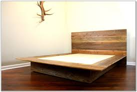 california king mission style frame bed with headboard footboard