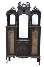 Curio Cabinets Under 200 00 Antique Cabinets U0026 Cupboards Ebay