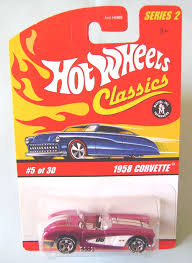 Pink Color Wheel by Wheels 1958 Vettes