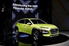 autos designen 11alive hyundai reveals kona crossover at los angeles auto show