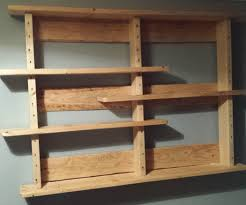 wood wall shelf plans