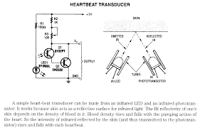 house diagrams free electrnoic circuit diagrams heartbeat transducer using