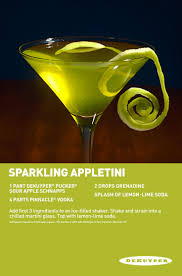 martini apple 23 best pucker sour apple schnapps cocktails images on pinterest