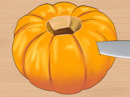 how to cut a pumpkin 10 steps with pictures wikihow