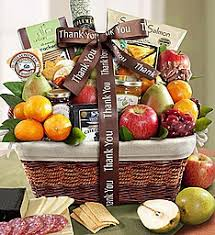 thank you gift baskets food gift 1800baskets