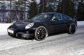 new porsche 2019 spy shots 8th gen 2019 porsche 911 type 992 all turbo including
