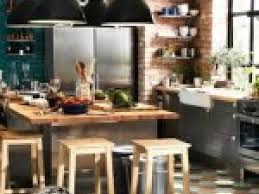la cuisine bistrot meuble cuisine bistrot related article du bleu canard dans une