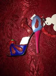 disney shoe heel ornament collection on ebay