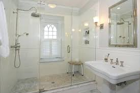 bathroom crown molding ideas crown molding in shower traditional 3 4 bathroom with wall sconce