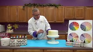 using food coloring in cake decorating youtube