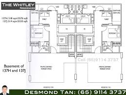 residence floor plan whitley residences floor plans freehold strata homes at whitley