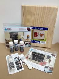 how to create a chalkboard using martha stewart crafts chalkboard