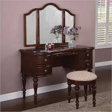 Small Cherry Wood Desk Makeup Vanity Powell Furniture Marquis Cherry Wood Makeup Vanity