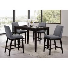 Latitude Run Kingston Seymour  Piece Counter Height Dining Set - Countertop dining room sets