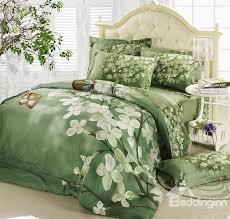 green bed set green comforter set queen mint hunter ecfq info
