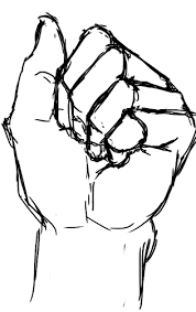 how i draw fists closed hands from references foervraengd