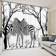 online get cheap living room zebra curtains aliexpress com