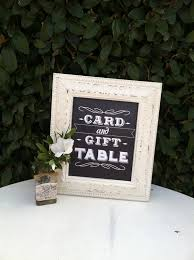 wedding gift table ideas chalkboard wedding placement ideas our guide