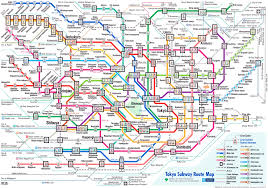Mbta Map Subway by Tokyo Subway Map My Blog