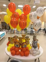 Theme Decoration by 1 Year Birthday Animal Theme Decoration Seattle Balloon Decorations