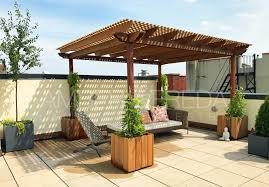 harlem rooftop garden and pergola amber freda home u0026 garden design