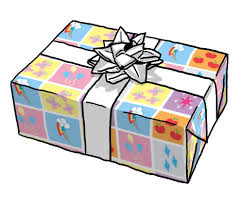 My Little Pony Gift Wrapping Paper - my little pony cutie mark fabric original design fabric